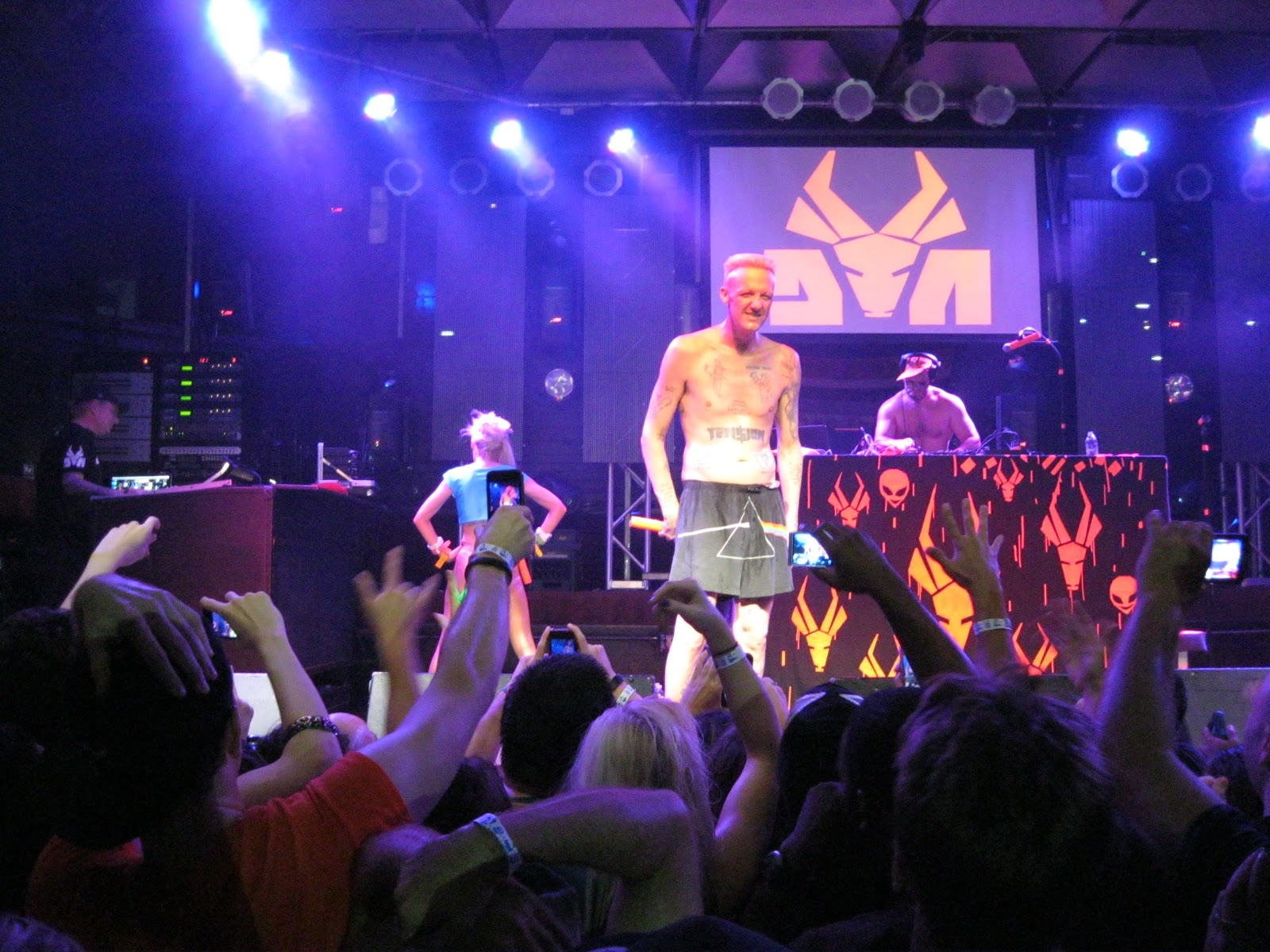 Alohamiscreant Die Antwoord Live In Ft Lauderdale