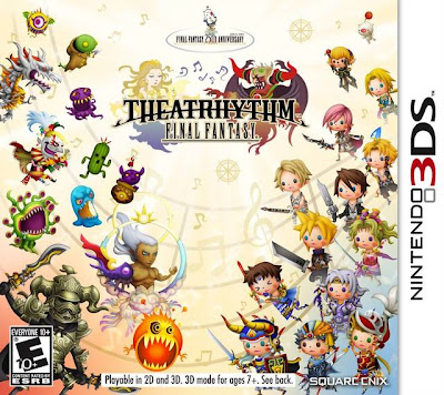Theatrhythm Final Fantasy Cover Art (US)