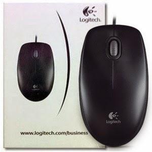 Mouse Logitech B 100 Mouse Murah dan Nyaman yang Cocok untuk Warnet