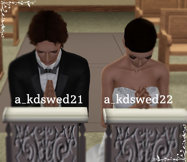 "Wedding Altar Sims 2: My Sims 3 Poses: Wedding Pack 2 ""The Ceremony Part 1"" By Kiddo"