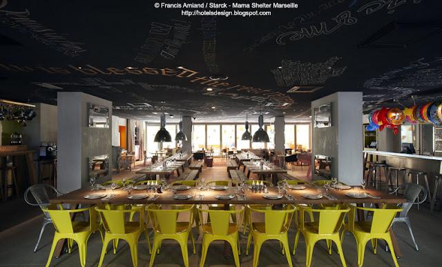 Les plus beaux hotels design du monde h tel mama shelter for Atelier roland castro