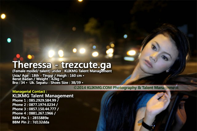 Model Seksi Theressa (Trez) Model Purwokerto, Dalam Balutan Busana Casual - foto oleh : Klikmg Fotografi | www.trezcute.ga