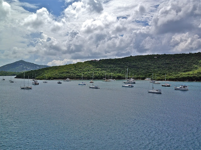 Sailboats at St. Thomas, USVI