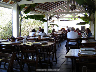 Restaurante Paraíso Tropical: Um dos ambientes