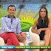 Inês Gonçalves mostrando as suas belas pernas@rtp mundial 14.06.2014
