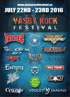 FM at Vasby Rock Festival July 2016