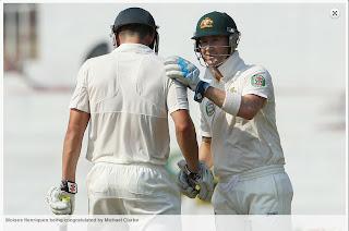 Moises-Henriques-Michael-Clarke-IND-vs-AUS-1st-Test