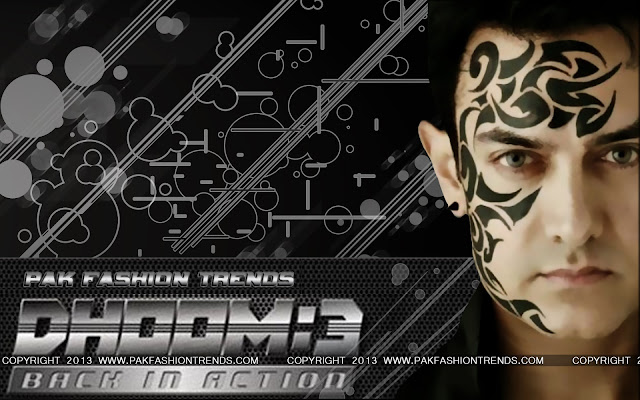 DHOOM 3 AMIR KHAN, HD WALLPAPER OF AMIR KHAN