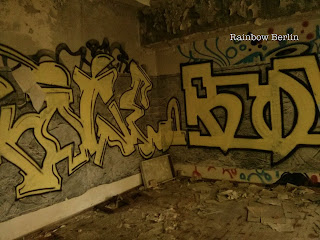 Street Art dans l'ambassade d'Irak abandonnée