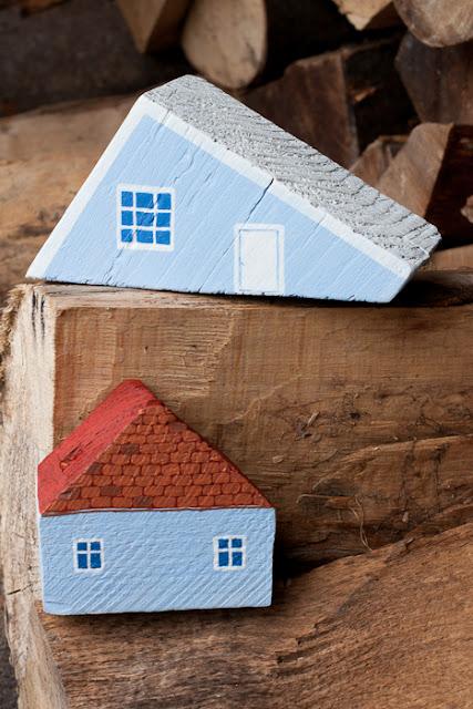 pomysł na wykorzystanie odpadków z drewna DIY