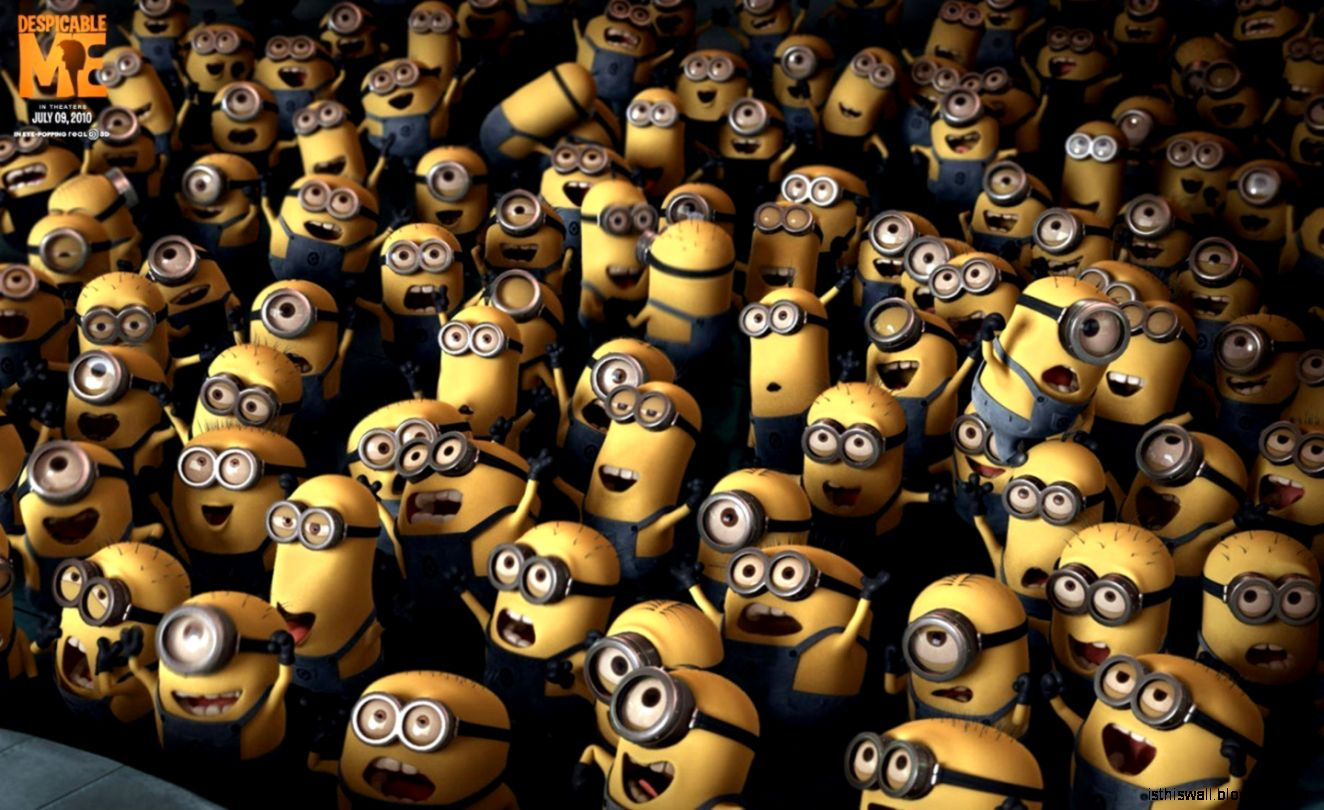 Despicable Me Minion Crowd