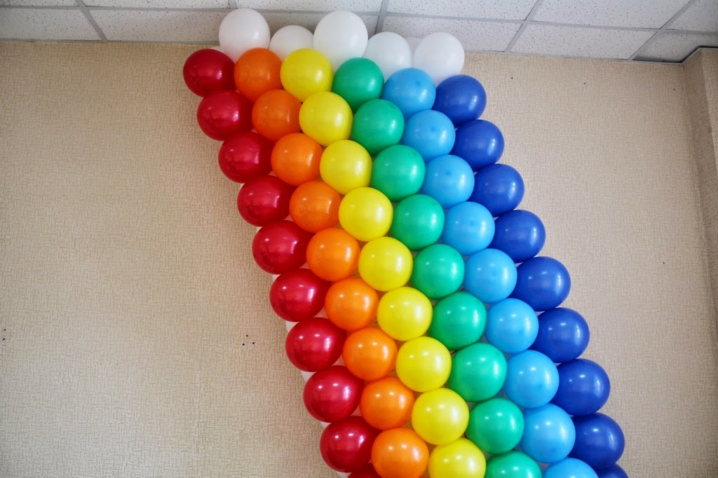 Как сделать шар из шаров линколунов 54