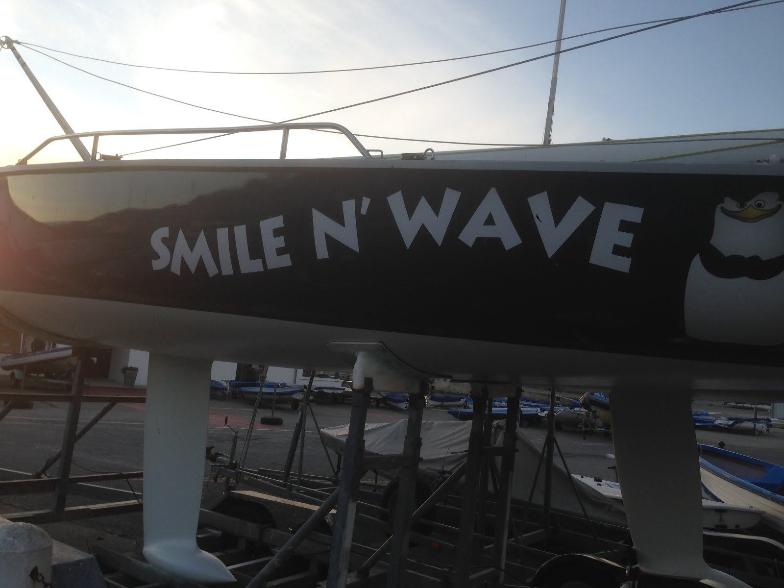 Smile and wave.....