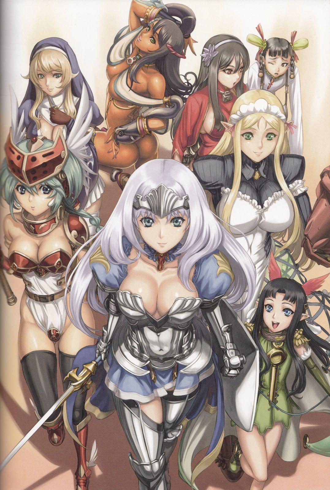 Queen's Blade Rebellion [12/12] [Complete]