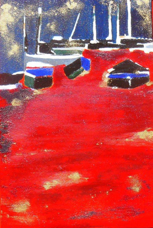 Lagune rouge
