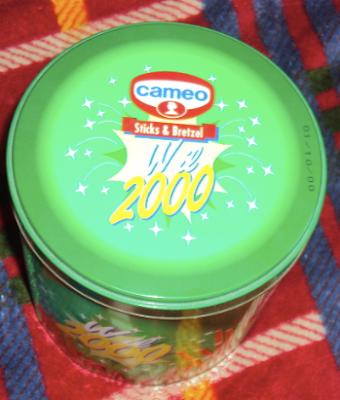 scatola di latta cameo 2000