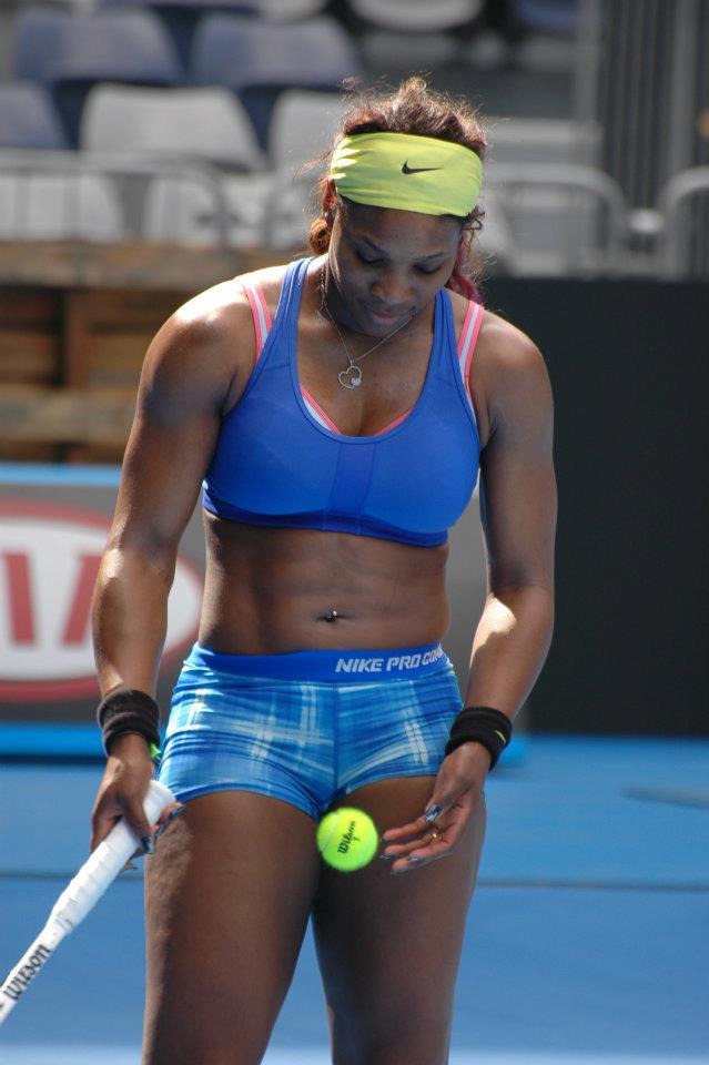 foto de Serena Williams Superb Tennis Black Beauty Sports Stars