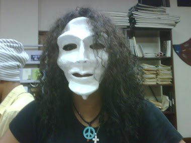 My friend Amanda's mask