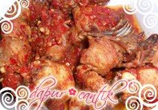 Gambar Masakan Balado Ayam Pejantan Dapur Cantik