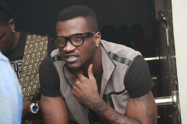 Peter Okoye Ditches Jude: A Happy Family
