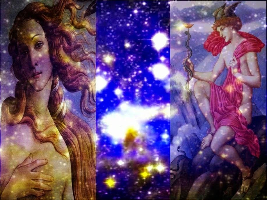 Astrologia de Vênus e Mercúrio