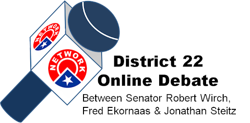 District 22 Online Debate