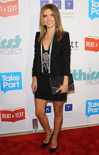 Audrina Patridge attends the red carpet at  The Thirst Project 3rd Annual Gala 2012