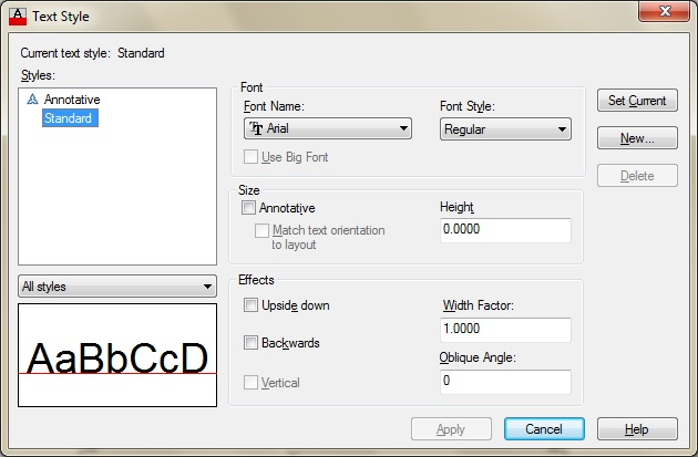 how to change dimension arrow style in solidworks