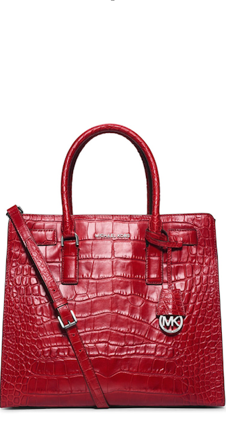 RED Michael Kors Dillion handbag