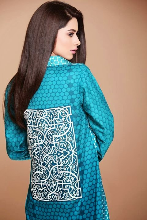 Mausummery  Spring Summer Collection 2014 featuring Huma khan