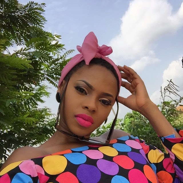 HOT: Chidinma looking very colourful in new pics 2