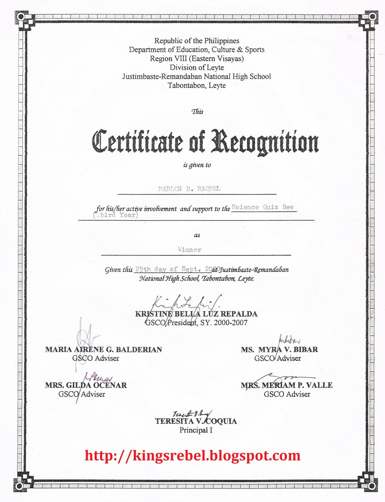 examples of certificates of recognition – Certificate of Recognition Samples