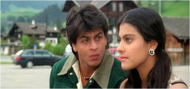 Shahrukh & Kajol in Europe for DDLJ