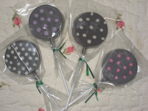 Polkadot Lollies..