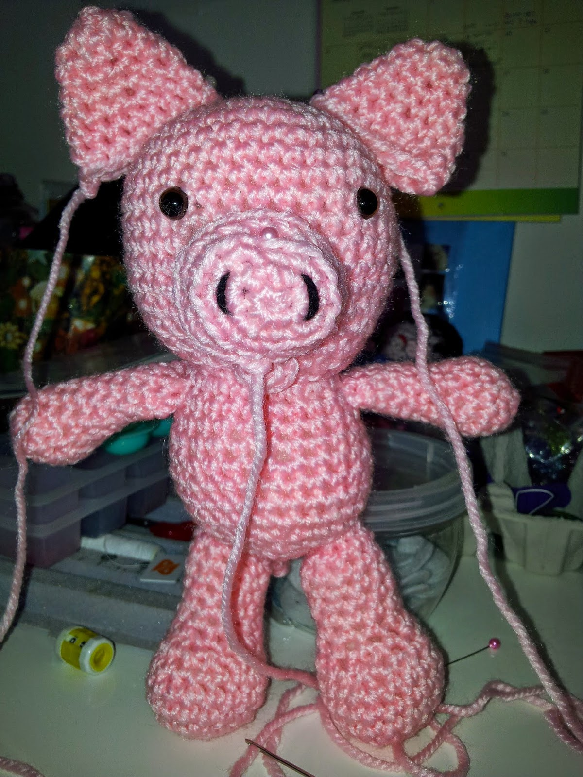 Amigurumi Attaching Arms : DEBS AMIGURUMI PROJECTS: The making of my Little Bigfoot ...