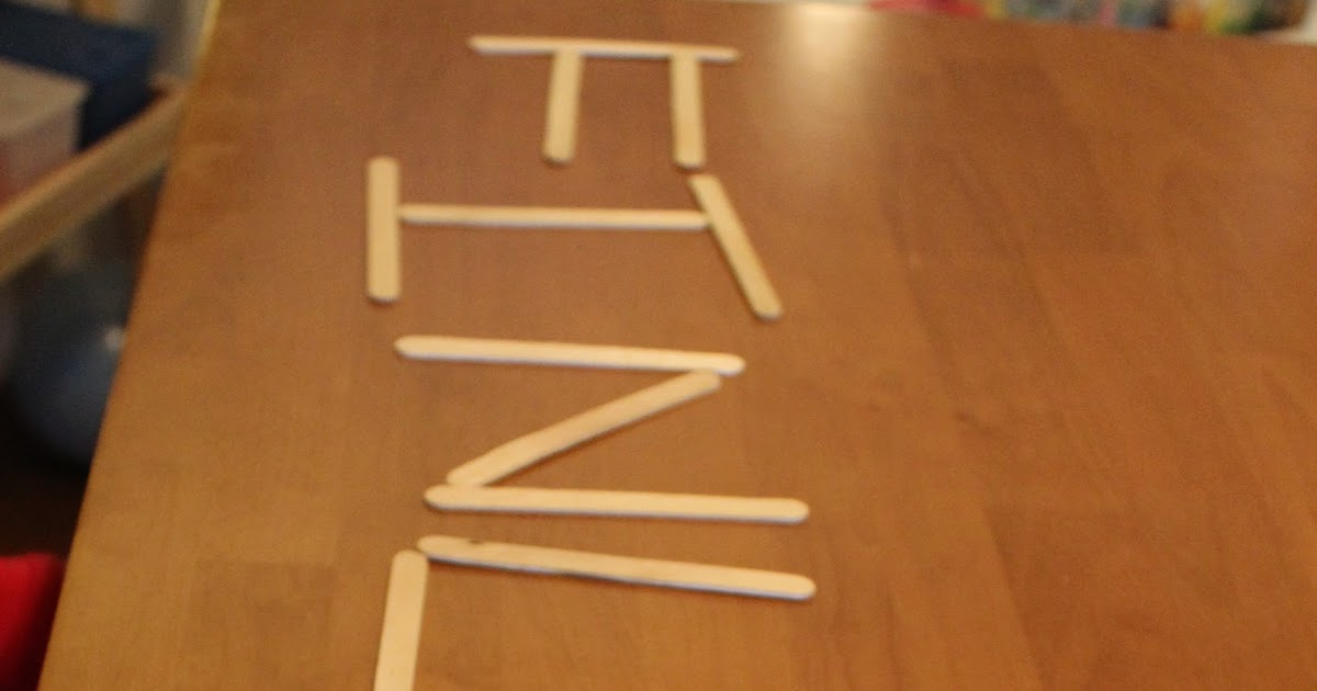 play for a day  popsicle stick letters
