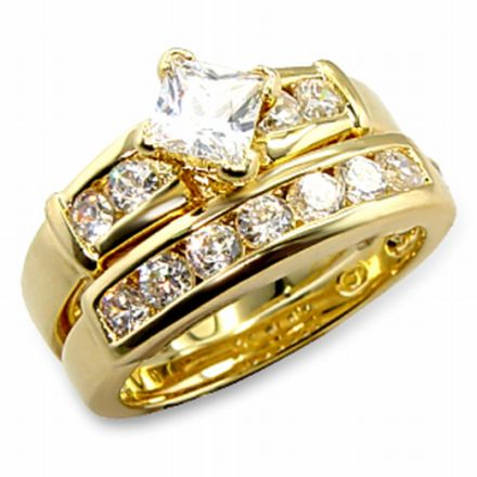 Wedding rings come in variety of designs and materials including gold