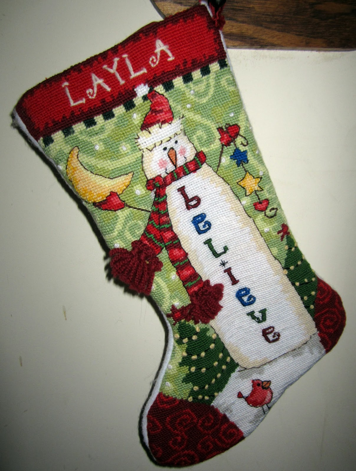 Sweet Magnolia Way Found Friday Needlepoint Christmas