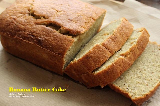 香蕉牛油蛋糕