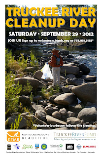 Truckee River Cleanup Day