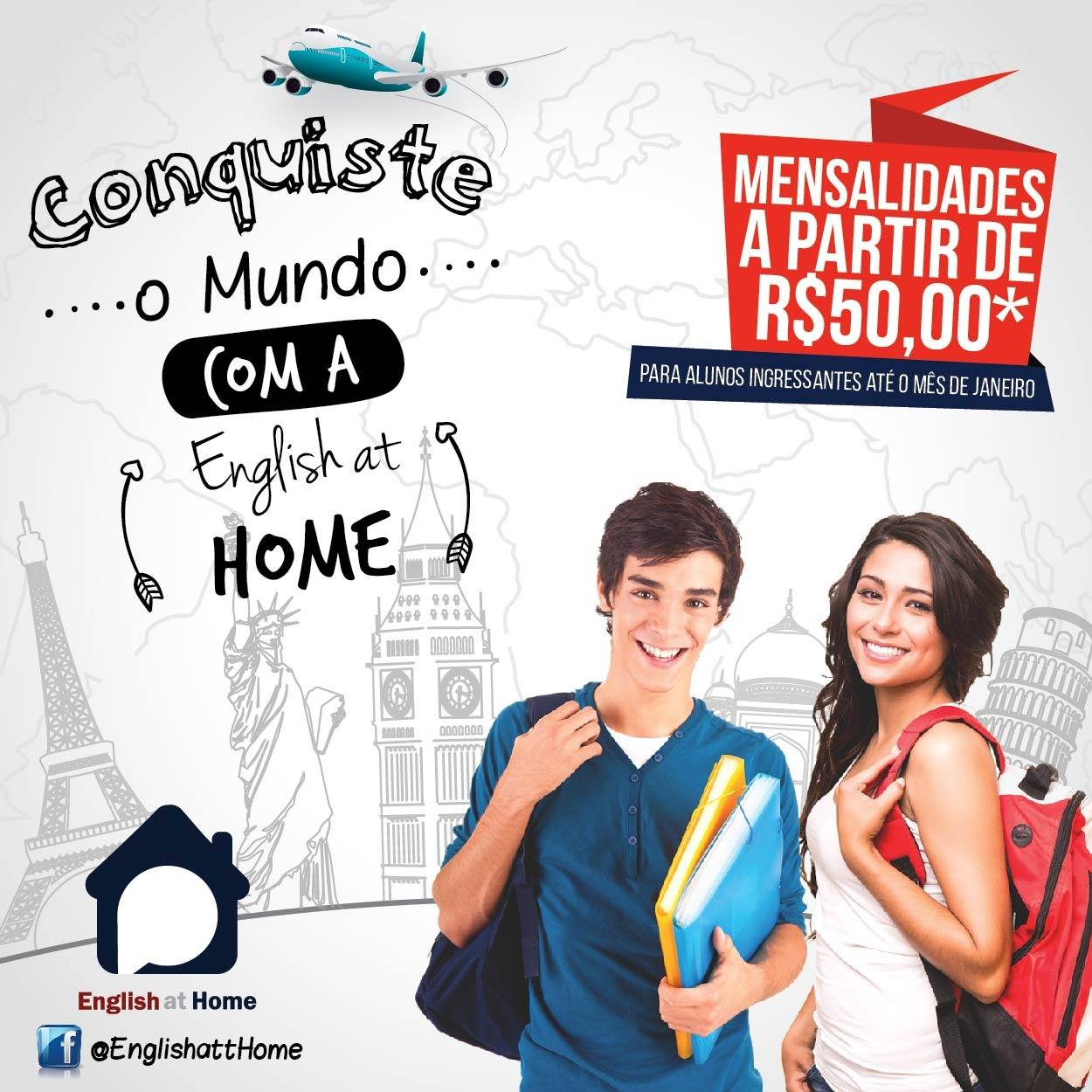 Quer aprender a falar inglês em casa?