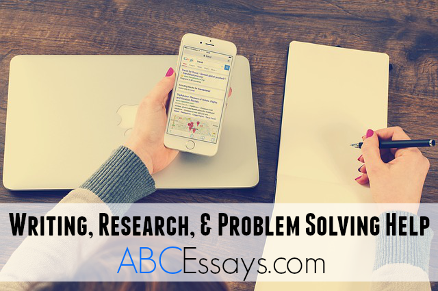 problems in writing research paper
