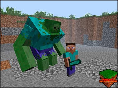 Mutant Creatures Mod zombie