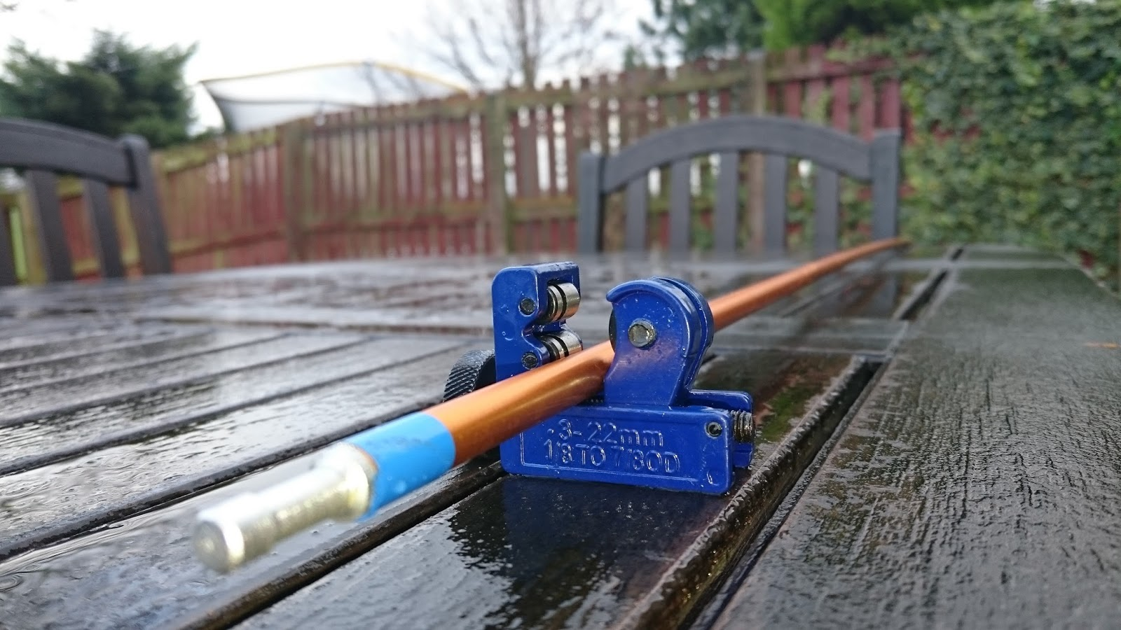 Pipe cutter & DIY tent poles | Kingdomguides blog by Murray Wilson