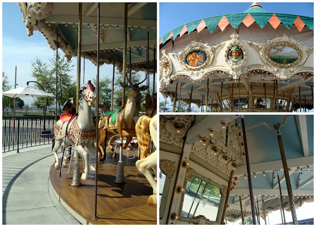 Orange County Great Park Carousel Ride via The Sunshine Grove