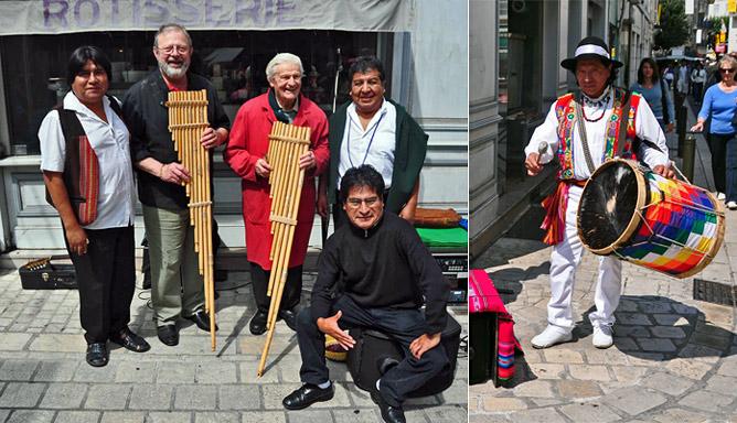 Le groupe bolivien Alaya à Périgueux