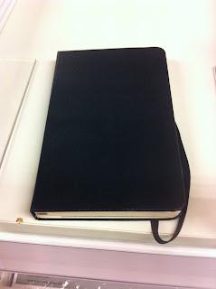 moleskine notitieboekje