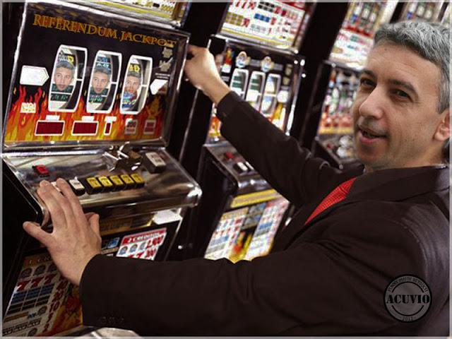 Funny photo Dan Diaconescu Referendum Jackpot