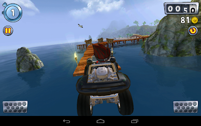 Beach buggy blitz the racing game: Impressive visuals