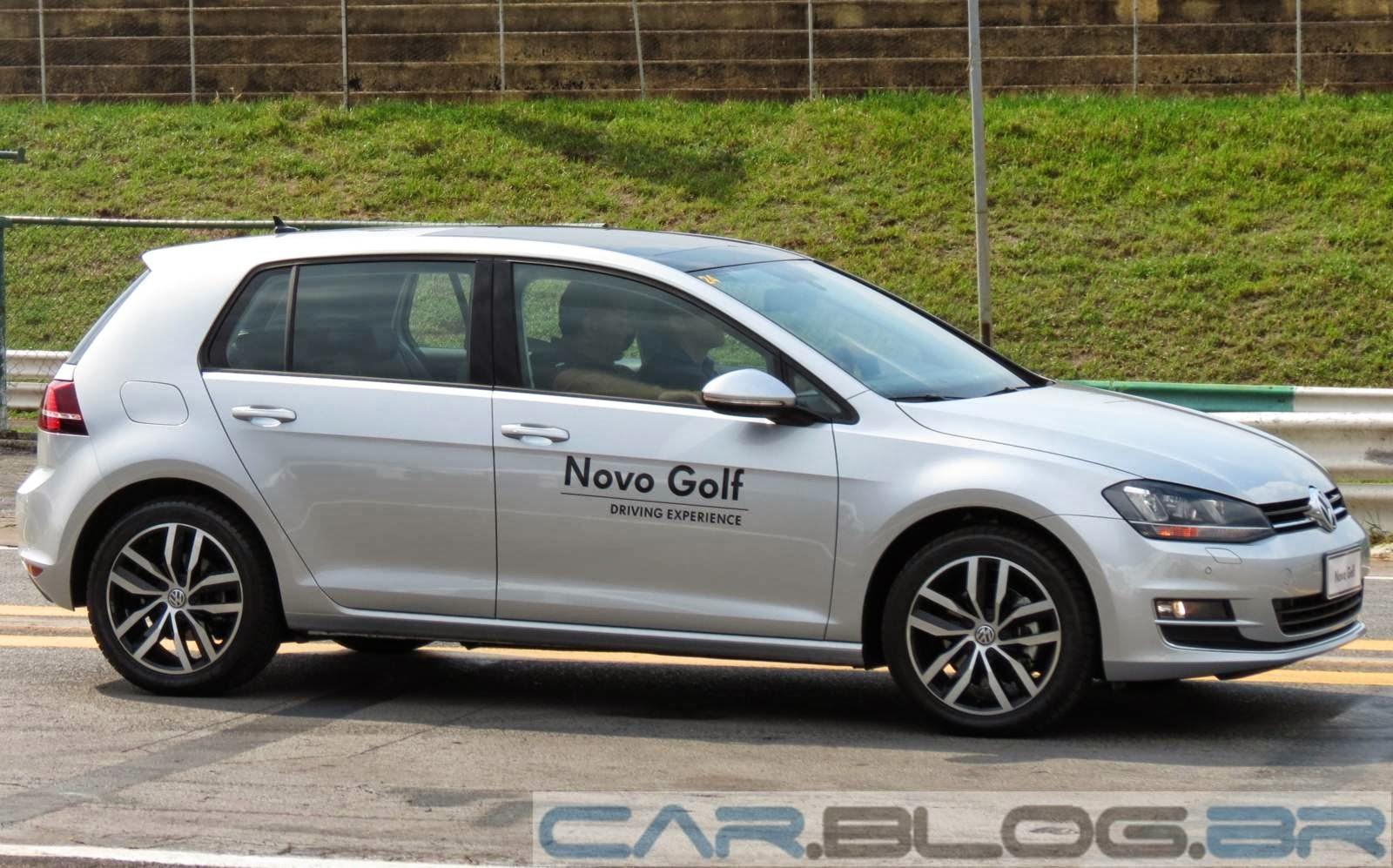 Novo VW Golf 2014 Prata